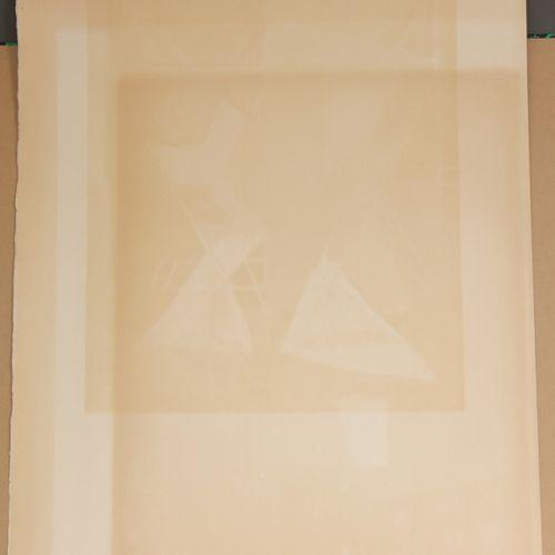Jacques VILLON (1875 1963)  Composition cubiste  Lithographie signée en bas à dr…