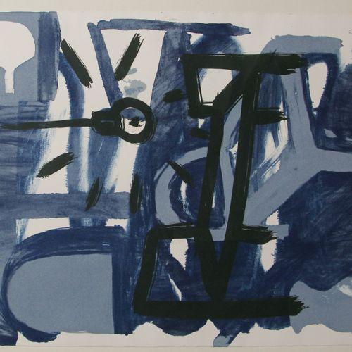 CAMPANO Miguel Angel (1948 2018)  Doce solos, 1989  Suite de huit lithographies …