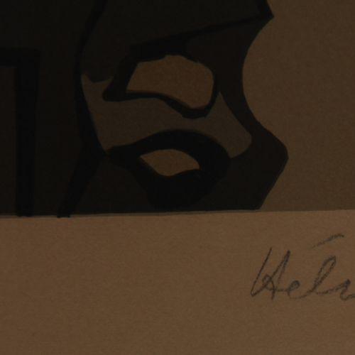 Jean HELION (1904 1987)  Défense d'entrée  Lithographie signée en bas à droite, …