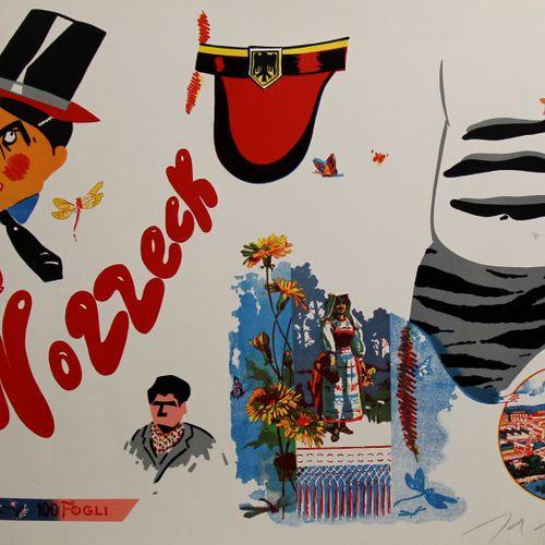 Eduardo ARROYO (1937 2018)  Wozzeck, 1972  Lithographie polychrome signée en bas…