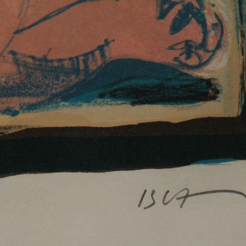 Sept lithographies   Borislav STOEV  Centaure  EA signée et datée 1988  49 x 61 …