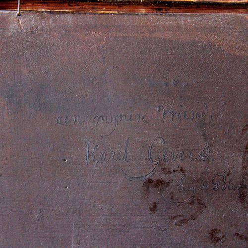 Eugène François de BLOCK (1812 1893).  Maternité.  Huile sur panneau. (Craquelur…