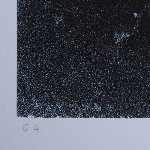 ERRO (1932 )  Sianuk, 1974  Sérigraphie signée et numérotée EA  90 x 56 cm.(bord…