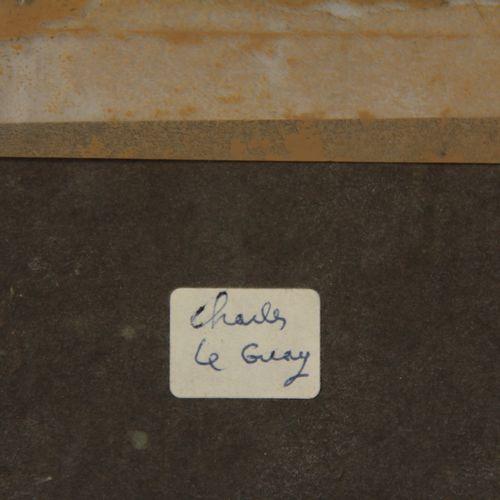 Charles Etienne LEGUAY (1742 1846), attribué à  Enfants dans un champ de blé  Fu…