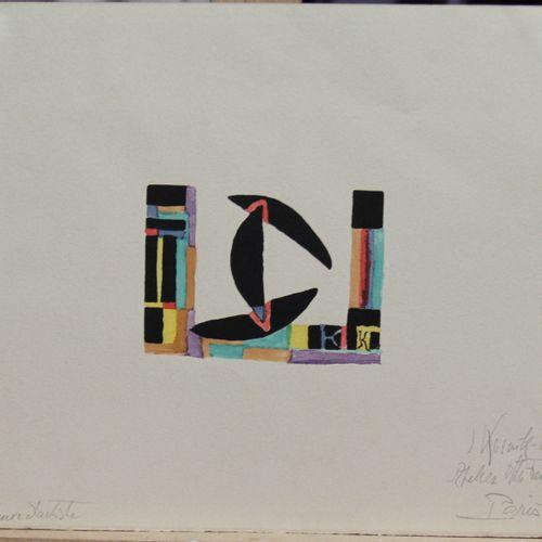 KOSNIK KLOSS Jeanne (1892 1966)  Sans titre  Lithographie EA signée en bas à dro…