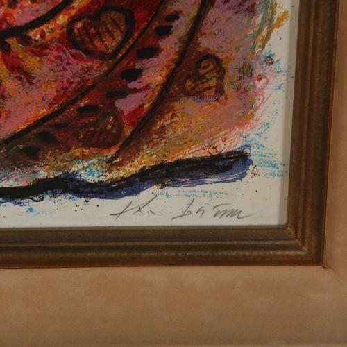 Théo TOBIASSE (1927 2012)  Babylone depuis la première aube  Lithographie signée…