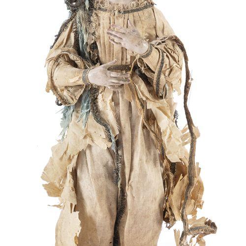 PASTORE DA PRESEPE, NAPOLI FINE XVIII, INIZI XIX SECOLO  raffigurante figura del…
