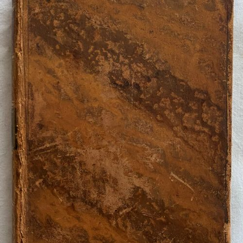 Lot of three books from the late 18th and early 19th century:     J B C, Hot,  M…