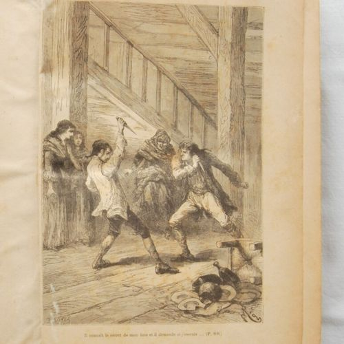 D'ENNERY, Adolphe.  The two orphans.  Paris, Jules Rouff éditeur.Tome I and II. …