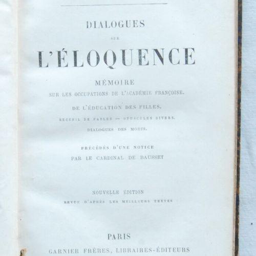 Lot of two books:     Alphonse, de Lamartine,  Recueilments poétiques par M. De …