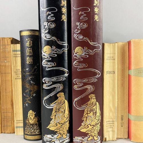 Religion,  Ensemble comprenant trente cinq ouvrages moderne sur les religions et…