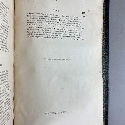 Paul Féval (1816 1887),  Les tribunaux secrets, ouvrage historique par Paul Féva…