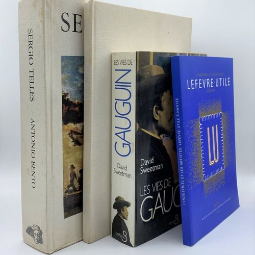 Histoire de l'art,  Ensemble de douze ouvrages moderne sur l'histoire et l'histo…