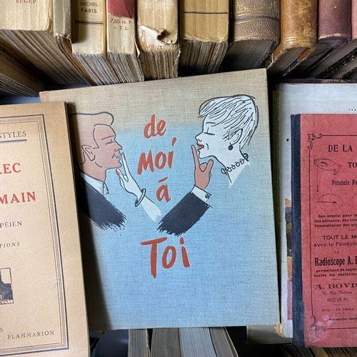 Important lot composé d'ouvrages du XIXe et XXe siècle.  Thèmes divers.  En l'ét…