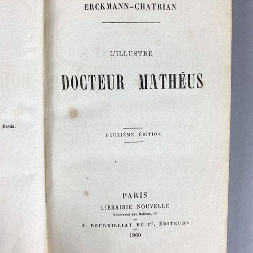 Lot de cinq ouvrages comprenant :   Alphonse Daudet, Fromont jeune et Risler Ain…