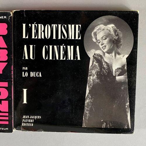 Erotisme,  Ensemble composé de treize ouvrages,  dont, Helmut Newton, Métaphysiq…