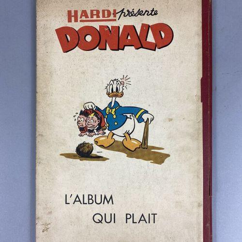 Bande dessinée,  Hardi présente Donald  N°266 275 (dimanche 27 avril 1952)  Couv…