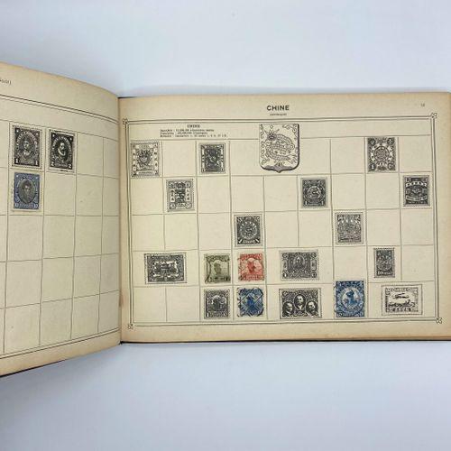 Timbres,  Album illustré de timbres poste  Maison Arthur Maury 6 Boulevard Montm…