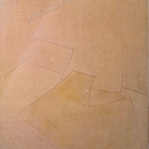 RICHTER Hans Sans titre Média mixte sur bois 43x36 cm.  Provenance : Collection …