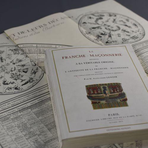 La Franche Maçonnerie rendue à sa véritable origine Alexandre Lenoir (1761 1839)…