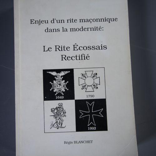 Documents relatifs au Rite Écossais Rectifié Le Rite Écossais Rectifié (RER) d…