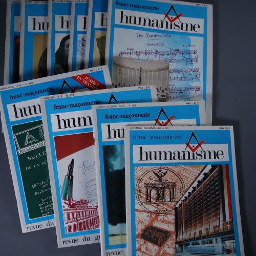 Humanisme. Revue des franc maçons du Grand Orient de France, n° 99 108 Le Grand …