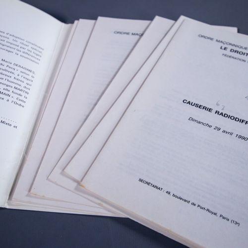 Documents relatifs au Droit Humain Dans la seconde moitié du XIXe siècle, Mari…