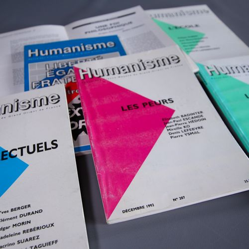 Humanisme. Revue des Franc Maçons du Grand Orient de France n°203 216 Le Grand O…
