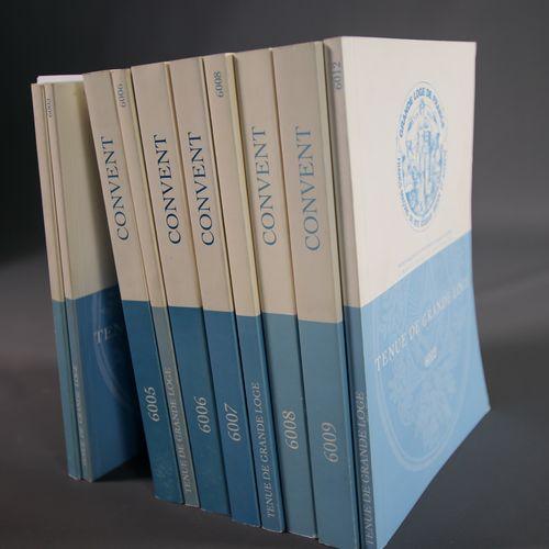 Comptes rendus officiels des Convents, des Travaux et des Tenues de Grande Loge …