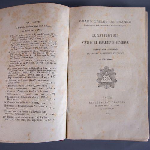 Documents historiques du Grand Orient de France Le Grand Orient de France est ne…