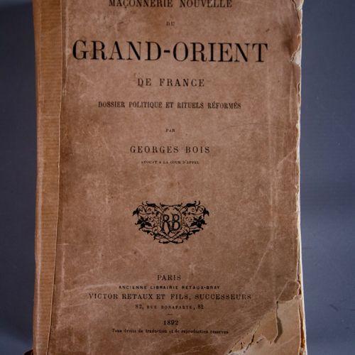 Membres historiques du Grand Orient de France Le Grand Orient de France est né …