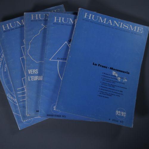 Humanisme. Revue des Franc Maçons du Grand Orient de France N°92 98 Le Grand Ori…