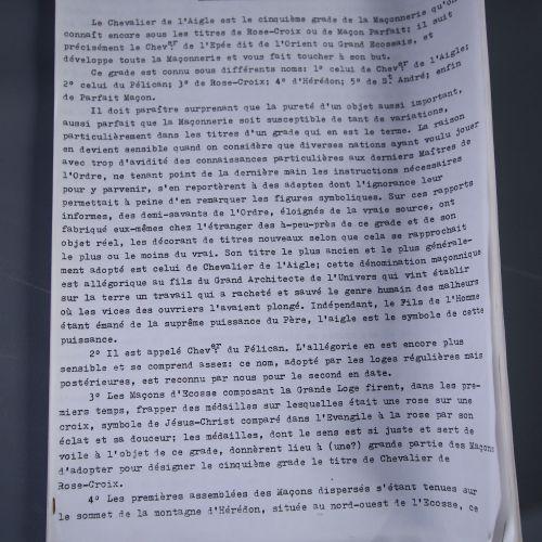 Documents relatifs à la Stricte Observance La Stricte Observance Templière (SOT…