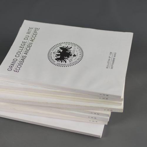 Bulletins du Grand Collège du Rite Ecossais Ancien Accepté Le Grand Collège des…