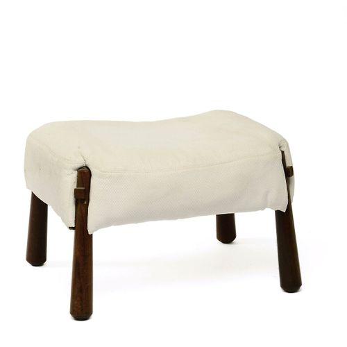Percival LAFER (Brazilian designer, born in 1936).  Pair of comfortable armchair…
