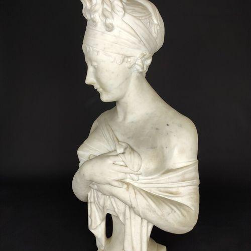 Joseph CHINARD (1756 1813), according to.  Portrait of Juliette Récamier (1777 1…