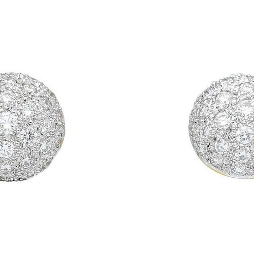 Diamond jewellery set  Modern jewellery set consisting of necklace, bracelet and…