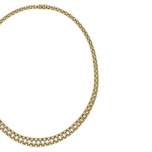 Diamond jewellery set  Creative jewellery set in yellow gold 18K.  Consisting of…