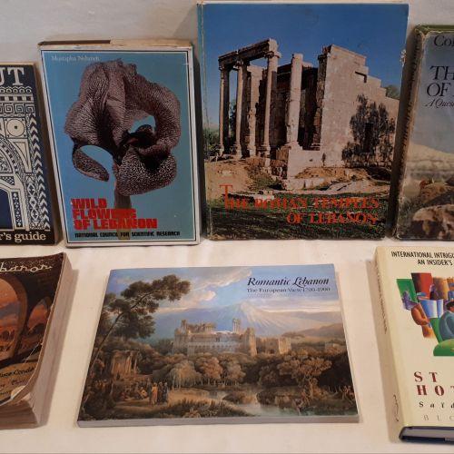 BOOK LOT – SEVEN BOOKS: including; Aburish, Said, K., The St. George Hotel Bar, …