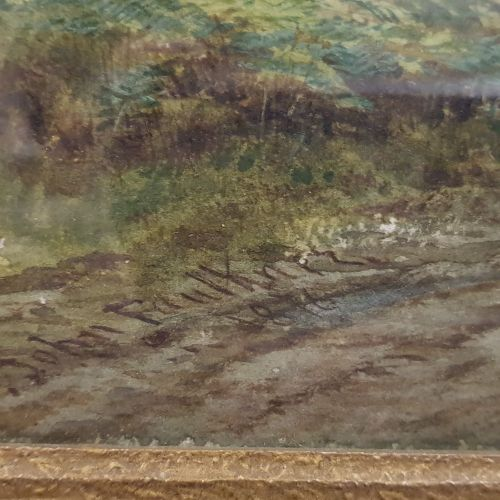 "JOHN FAULKNER RHA (1835 1894), ""A PASTORAL COUNTRYSIDE SCENE"", watercolour, sign…"