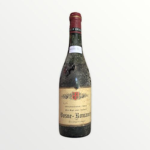 René Engel酒庄,Pierre Engel,Vosne Romanée,1964年,水平7厘米,标签有污渍和破损