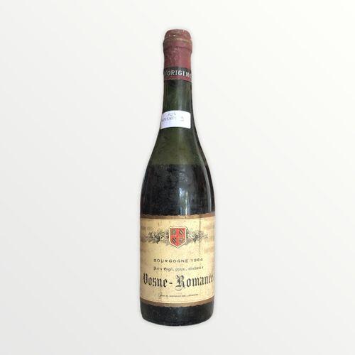 Domaine René Engel, Pierre Engel, Vosne Romanée 1964, niveau 9 cm , étiquette ta…
