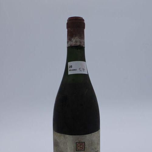 Domaine René Engel, Vosne Romanée 1962, Level 7.5 cm, label stained, capsule cor…