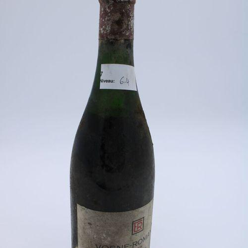 Domaine René Engel, Vosne Romanée 1962, Level 6.4 cm, partial label, cork down, …
