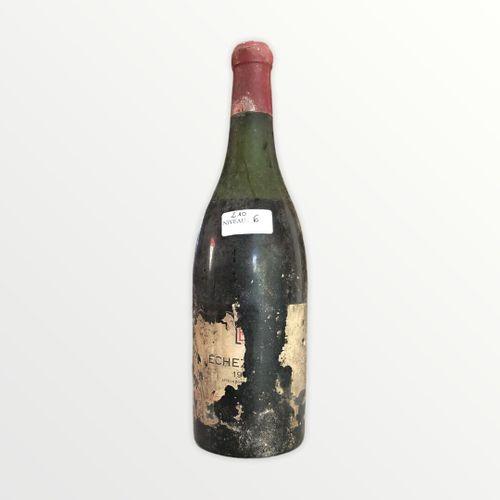 Domaine René Engel, Echézeaux probablement 1962, niveau 6 cm, étiquette tachée e…