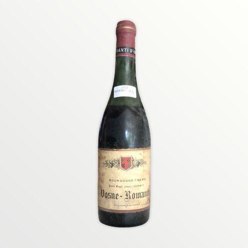 Domaine René Engel, Pierre Engel, Vosne Romanée 1964, niveau 7.5 cm, étiquette t…