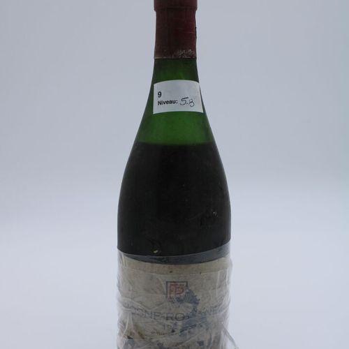 Domaine René Engel, Vosne Romanée probablement 1962, niveau 5.8 cm, étiquette pa…