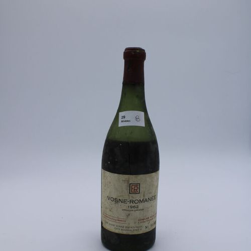 Domaine René Engel, Vosne Romanée 1962, Level 8 cm, label stained, capsule corro…
