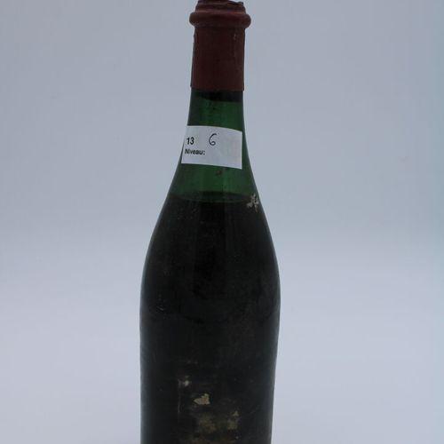 Domaine René Engel, ? Probablement Vosne Romanée 1962, niveau 6 cm, sans étiquet…