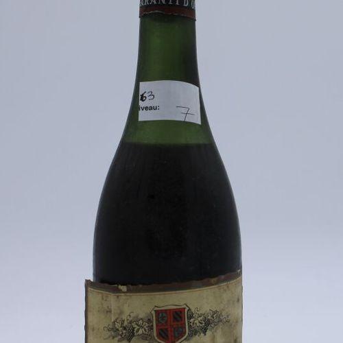 Domaine René Engel, Pierre Engel, Vosne Romanée 1964, niveau 7 cm, étiquette tac…